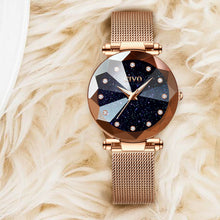 8064C | Quartz Women Watch | Mesh Band
