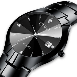 0104C | Quartz Men Watch | Stainless Steel Band-megalith watch