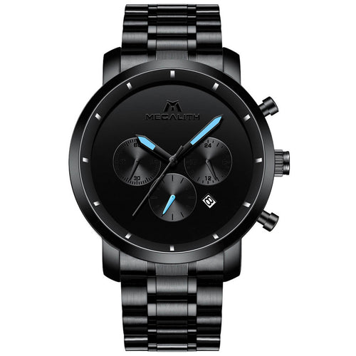 8021M | Quartz Men Watch | Stainless Steel Band-megalith watch