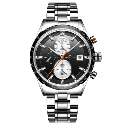 8034M | Quartz Men Watch | Stainless Steel Band-megalith watch