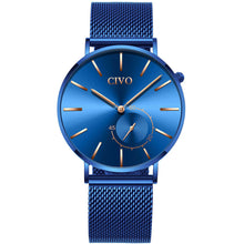 8037C | Quartz Men Watch | Mesh Band
