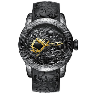 8041M | Mechanical Men Watch | Rubber Band