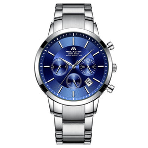 8043M | Quartz Men Watch | Stainless Steel Band-megalith watch