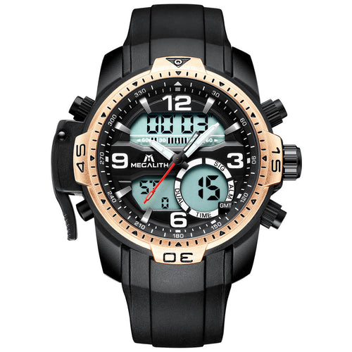 8067M | Quartz Men Watch | Rubber Band