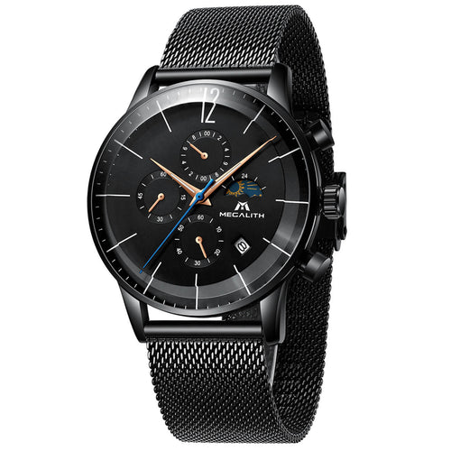8088M | Quartz Men Watch | Mesh Band