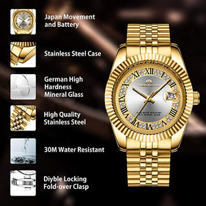 0038M | Quartz Men Watch | Stainless Steel Band
