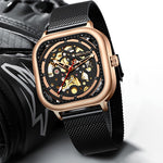 Load image into Gallery viewer, 8202M | Mechanical Men Watch | Mesh Band-megalith watch