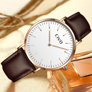 1181C | Quartz Men Watch | Leather Band
