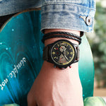 Load image into Gallery viewer, 8083M | Quartz Men Watch | Leather Band-megalith watch