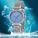 Load image into Gallery viewer, 8115C | Quartz Women Watch | Mesh Band-megalith watch