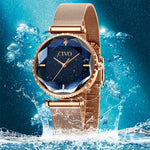 Load image into Gallery viewer, 8116C | Quartz Women Watch | Mesh Band-megalith watch