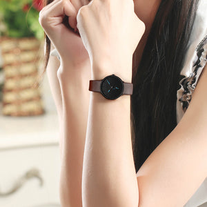 0124C | Quartz Women Watch | Leather Band-megalith watch