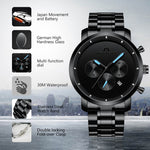Load image into Gallery viewer, 8021M | Quartz Men Watch | Stainless Steel Band-megalith watch