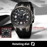 Load image into Gallery viewer, 8201M | Quartz Men Watch | Rubber Band-megalith watch