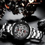 Load image into Gallery viewer, 8207M | Quartz Men Watch | Stainless Steel Band-megalith watch