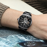 Load image into Gallery viewer, 8070M | Mechanical Men Watch | Stainless Steel Band-megalith watch