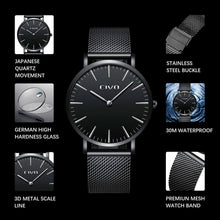 0054C | Quartz Men Watch | Mesh Band