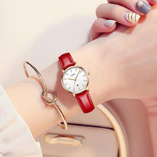 8062C | Quartz Women Watch | Leather Band