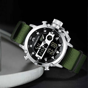 8051M | Quartz Men Watch | Nylon Band-megalith watch