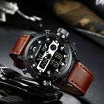 Load image into Gallery viewer, 8051M | Quartz Men Watch | Leather Band-megalith watch