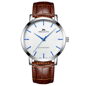 2048M | Quartz Men Watch | Leather Band-megalith watch