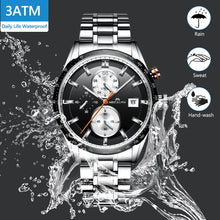 8034M | Quartz Men Watch | Stainless Steel Band