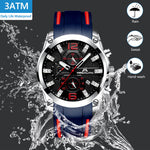 Load image into Gallery viewer, 8009M | Quartz Men Watch | Rubber Band-megalith watch