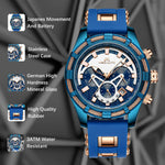 Load image into Gallery viewer, 8042M | Quartz Men Watch | Rubber Band-megalith watch