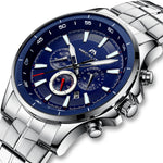 Load image into Gallery viewer, 0073M | Quartz Men Watch | Stainless Steel Band-megalith watch