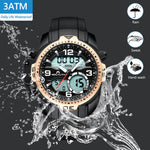 Load image into Gallery viewer, 8067M | Quartz Men Watch | Rubber Band-megalith watch
