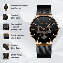 0047M | Quartz Men Watch | Mesh Band