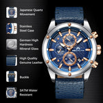 Load image into Gallery viewer, 8004M | Quartz Men Watch | Leather Band-megalith watch