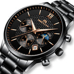 Load image into Gallery viewer, 8025M | Quartz Men Watch | Stainless Steel Band-megalith watch