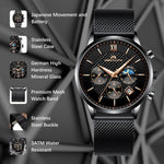 Load image into Gallery viewer, 8025M | Quartz Men Watch | Mesh Band-megalith watch