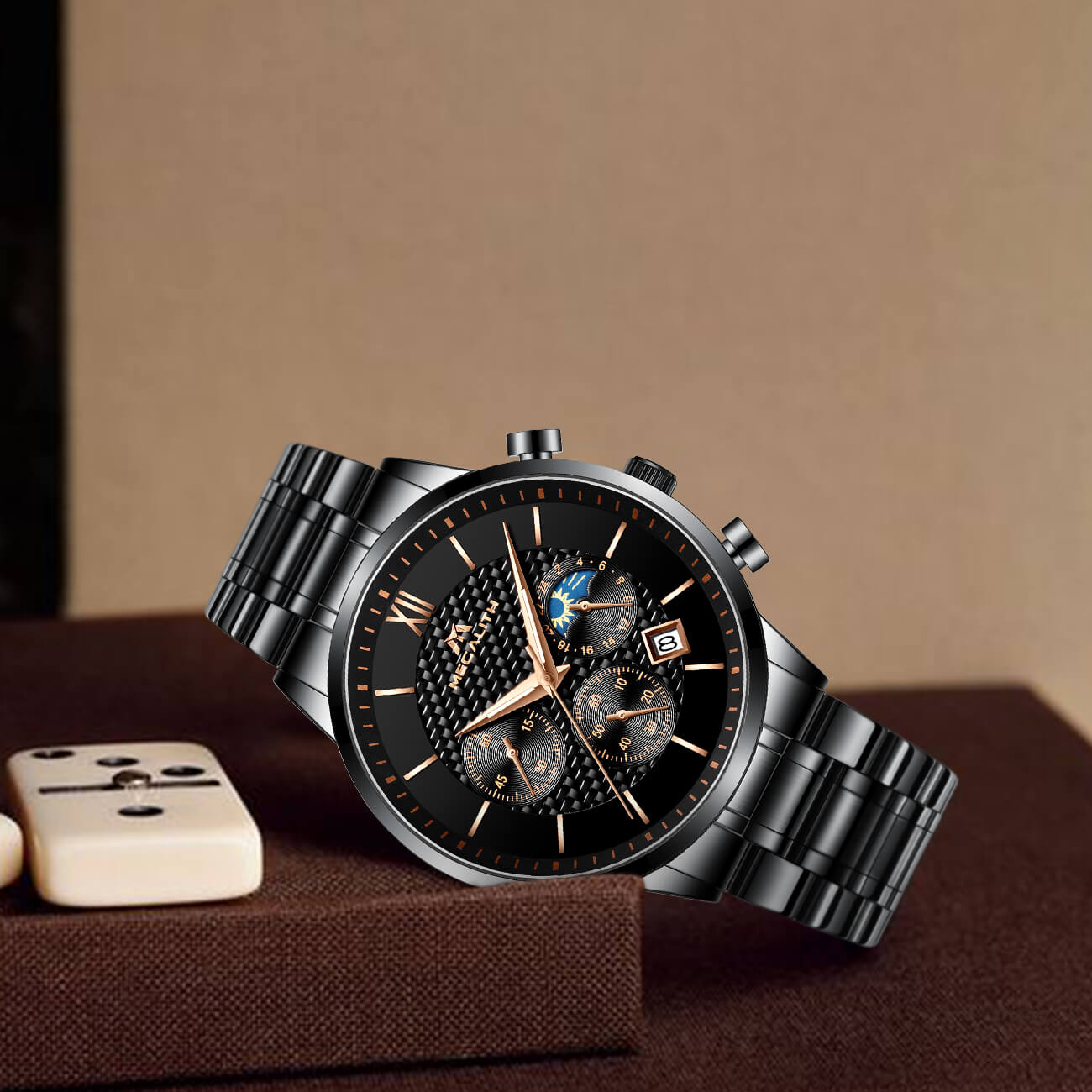 8025M | Quartz Men Watch | Stainless Steel Band-megalith watch