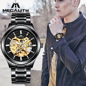 8045M | Mechanical Men Watch | Stainless Steel Band