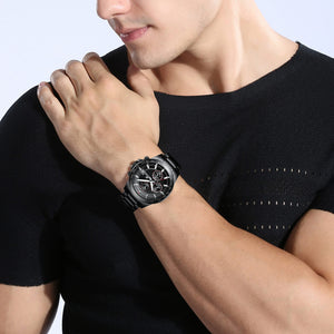 8033M | Quartz Men Watch | Stainless Steel Band-megalith watch