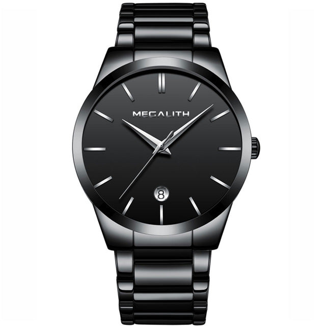0072M | Quartz Men Watch | Stainless Steel Band-megalith watch
