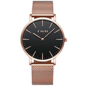 0054C | Quartz Men Watch | Mesh Band-megalith watch