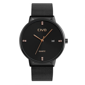 9164C | Quartz Men Watch | Mesh Band