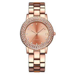 1250C | Quartz Women Watch | Stainless steel Band-megalith watch
