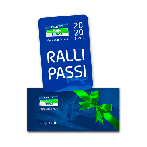 Rally Pass Gift Voucher 2020