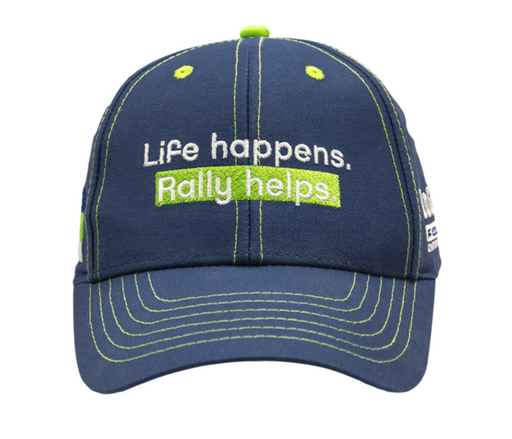 Life Happens. Rally Helps: Baseball-lippis