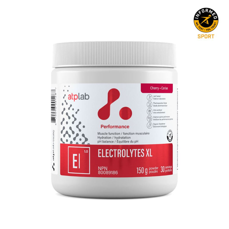 ATP LAB ELECTROLYTES XL 150g Supplements ATP Lab Cherry