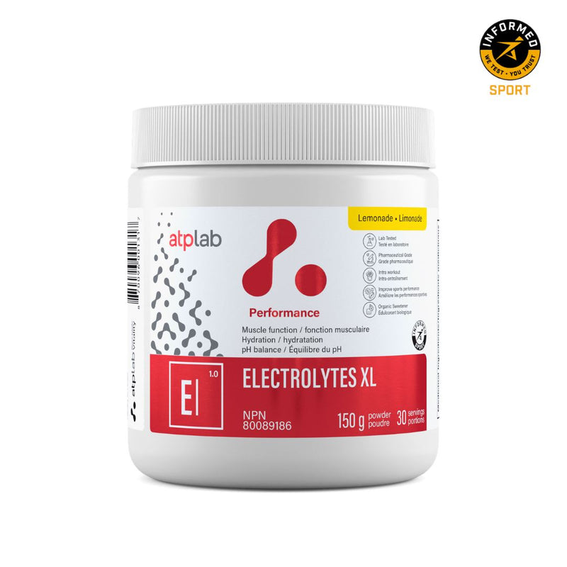 ATP LAB ELECTROLYTES XL 150g Supplements ATP Lab Lemonade