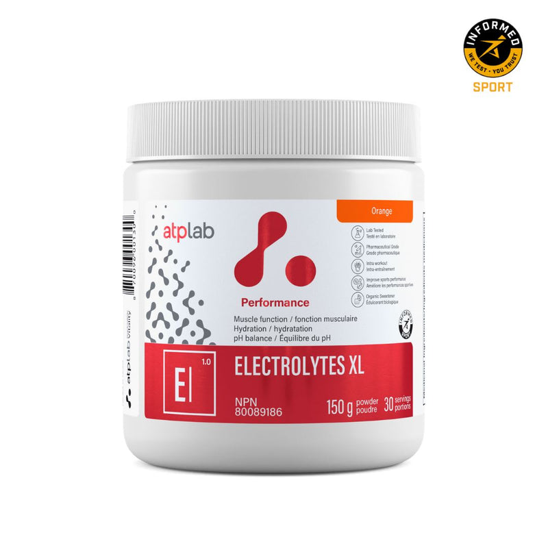 ATP LAB ELECTROLYTES XL 150g Supplements ATP Lab Orange