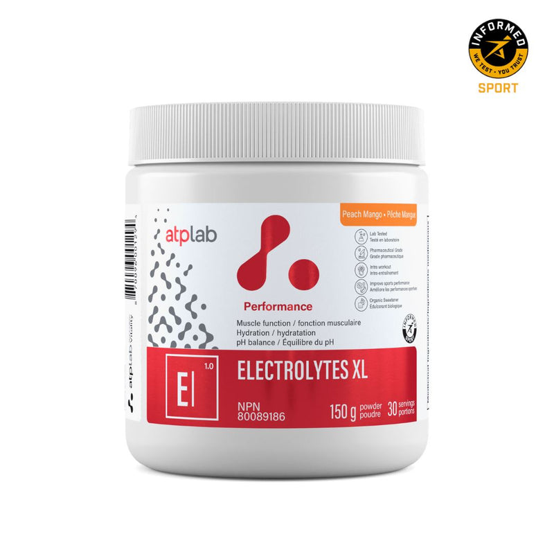 ATP LAB ELECTROLYTES XL 150g Supplements ATP Lab Peach Mango