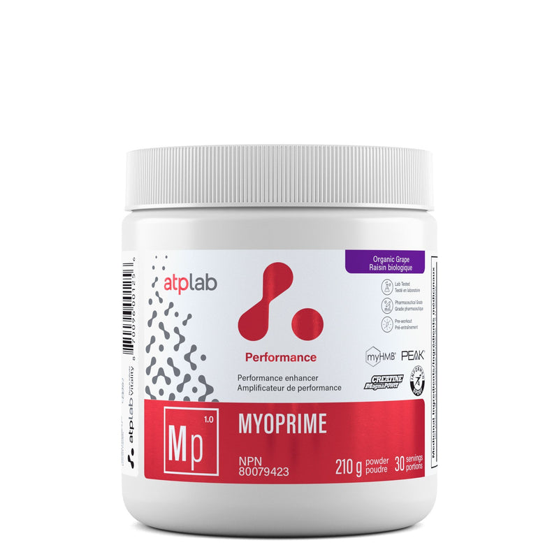 ATP LAB MYOPRIME 210g Supplements ATP Lab Organic Grape