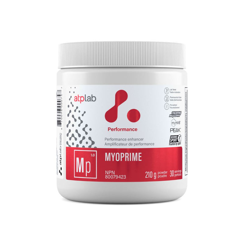 ATP LAB MYOPRIME 210g Supplements ATP Lab Organic Raspberry