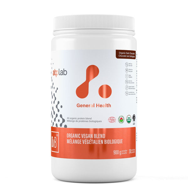ATP LAB ORGANIC VEGAN BLEND 900G Supplements ATP Lab Organic Dark Chocolate